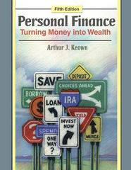 Personal Finance 5th edition 9780136070627 0136070620