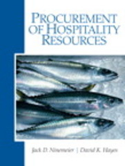 Procurement of Hospitality Resources 1st Edition 9780135148419 0135148413