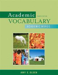 Academic Vocabulary 4th edition 9780205633180 0205633188