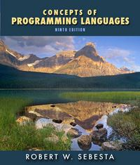 Concepts of Programming Languages 9th edition 9780136073475 0136073476
