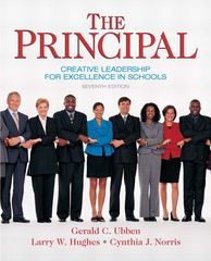 The Principal 7th Edition 9780137158379 0137158378