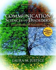 Communication Sciences and Disorders 2nd edition 9780135022801 0135022800