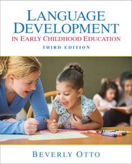 Language Development in Early Childhood Education 3rd edition 9780135019696 0135019699