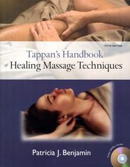 Tappan's Handbook of Healing Massage Techniques 5th Edition 9780135142233 0135142237