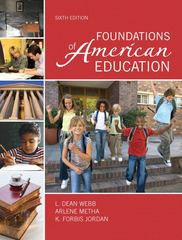 Foundations of American Education 6th Edition 9780137157266 0137157266