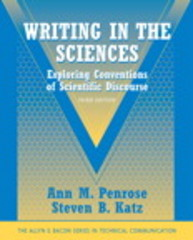 Writing in the Sciences 3rd Edition 9780205616718 0205616712