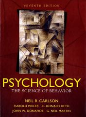 Psychology 7th edition 9780205547869 0205547869