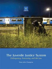 The Juvenile Justice System 6th edition 9780135008058 0135008050