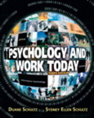 Psychology and Work Today 10th edition 9780205683581 0205683584