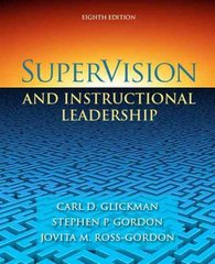 SuperVision and Instructional Leadership 8th edition 9780205625031 0205625037