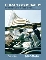 Places and Regions in Global Context 5th Edition 9780321580023 0321580028