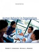 Human Behavior in Organizations 2nd edition 9780135038116 0135038111