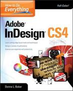 How To Do Everything Adobe InDesign CS4 1st edition 9780071606356 0071606351