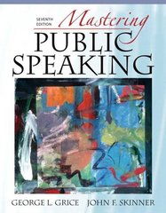 Mastering Public Speaking 7th edition 9780205593361 0205593364
