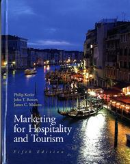 Marketing for Hospitality & Tourism 5th edition 9780135045596 0135045592