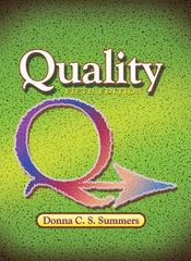 Quality 5th Edition 9780131592490 0131592491