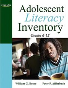 Adolescent Literacy Inventory, Grades 6-12 1st Edition 9780205569991 0205569994