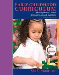 Early Childhood Curriculum 5th Edition 9780137152339 0137152337