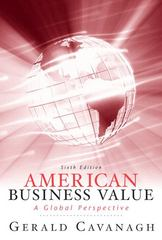 American Business Values 6th Edition 9780136078296 013607829X