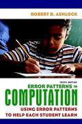 Error Patterns in Computation 10th Edition 9780135009109 0135009103