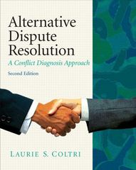 Alternative Dispute Resolution 2nd edition 9780135064061 0135064066