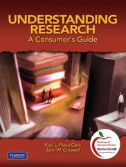 Understanding Research 1st edition 9780131583894 0131583891