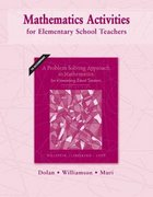 Mathematics Activities for Elementary School Teachers 10th Edition 9780321575685 0321575687