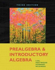 Prealgebra and Introductory Algebra 3rd edition 9780321578730 0321578732