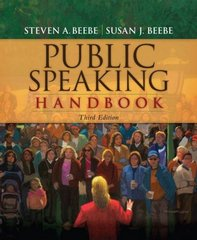 Public Speaking Handbook 3rd edition 9780205648351 0205648355