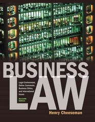 Business Law 7th edition 9780136085546 0136085547