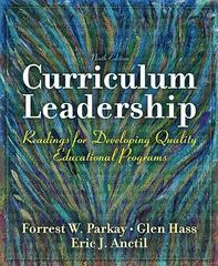 Curriculum Leadership 9th Edition 9780137158386 0137158386