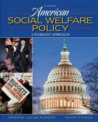 American Social Welfare Policy 6th edition 9780205627080 0205627080
