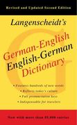 German-English Dictionary, Second Edition 2nd Edition 9781439141663 1439141665