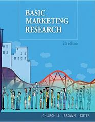 Basic Marketing Research (Book Only) 7th Edition 9780324599343 032459934X