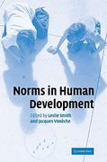 Norms in Human Development 1st edition 9780521857949 0521857945