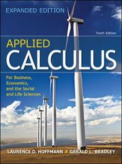 Applied Calculus for Bus, Econ, and the Social and Life Sciences Expanded Edition 10th edition 9780073532332 0073532339