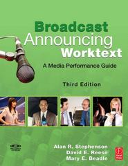 Broadcast Announcing Worktext 3rd edition 9780240810584 0240810589
