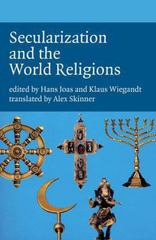 Secularization and the World Religions 0 9781846311888 1846311888