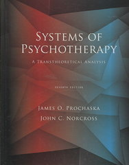 Systems of Psychotherapy: A Transtheoretical Analysis 7th Edition 9780495601876 049560187X