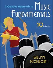 A Creative Approach to Music Fundamentals 10th edition 9780495796435 0495796433
