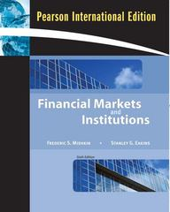 Financial Markets and Institutions 6th edition 9780321552112 0321552113