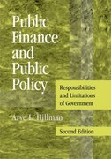 Public Finance and Public Policy 2nd edition 9780521738057 0521738059