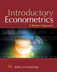 Introductory Econometrics 4th Edition 9780324660548 0324660545