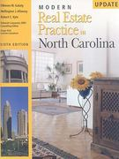 Modern Real Estate Practice in North Carolina, 6th Edition Update 6th edition 9781427750907 1427750904