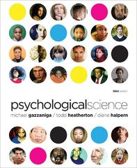Psychological Science 3rd edition 9780393931198 0393931196
