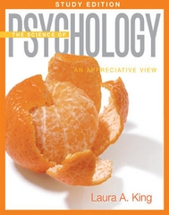 The Science of Psychology: An Appreciative View Study Edition 1st edition 9780073532141 0073532142