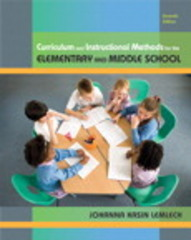Curriculum and Instructional Methods for Elementary and Middle School 7th Edition 9780135020050 0135020050