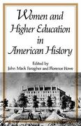 Women and Higher Education in American History 0 9780393336795 0393336794