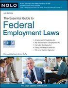 The Essential Guide to Federal Employment Laws 2nd Edition 9781413308891 1413308899