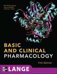 Basic and Clinical Pharmacology, 11th Edition 11th edition 9780071604055 0071604057